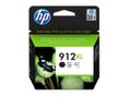 HP 912XL High Yield Black Org Ink Crt