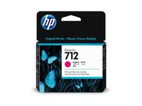 HP 712 29-ml Magenta DesignJet Ink Cartridge (3ED68A)