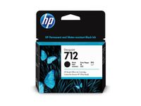 HP 712 80-ml Black Designjet Ink Cartridge (3ED71A)