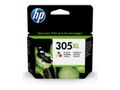 HP 305XL HIGH YIELD TRI-COLOR BLISTER ORIGINAL INK CARTRIDGE SUPL