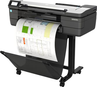 HP DesignJet T830 24inch MFP with new stand Printer (F9A28D#B19)