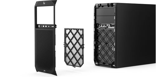 HP Z2 Tower G4 Dust Filter and Bezel (4KY89AA)