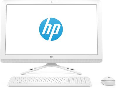 "HP 24-f0003no - Allt-i-ett - A9 9425 / 3.1 GHz - RAM 8 GB - HDD 1 TB - DVD-Writer - Radeon R5 - GigE - WLAN: 802.11a/ b/ g/ n/ ac,  Bluetooth 4.2 - Win 10 Home 64-bitars - skärm: LED 23.8"" 1920 x 1080 (Full H (4JR31EA#UUW)"