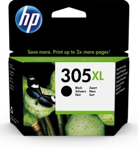 HP 305XL HIGH YIELD BLACK BLISTER ORIGINAL INK CARTRIDGE SUPL (3YM62AE#301)