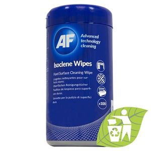 AF Isoclene - Tub of isopropanol surfaces wipes (100) (AISW100)
