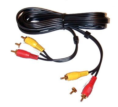 MICROCONNECT 3XRCA - 3XRCA  1.5m M-M Gold