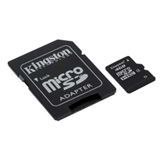 Kingston 8GB microSDHC Class 4 med SD-adapter