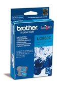 Brother LC980C Blekkpatron for ca. 260 A4 sider, cyan