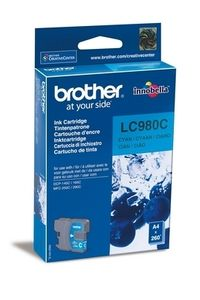 BROTHER LC980C Blekkpatron for ca.