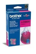 Brother LC980M Blekkpatron for ca. 260 A4 sider, magenta