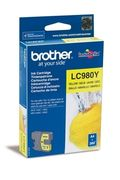 Brother LC980Y Blekkpatron for ca. 260 A4 sider, gul