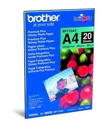 BROTHER A4 fotopapir, 20 ark,