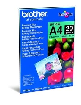Brother A4 fotopapir, 20 ark, 260g/m2