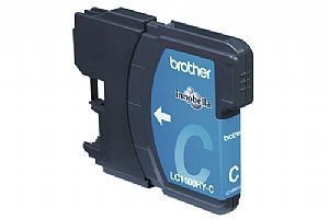 Brother Blekkpatron cyan for 750 A4 sider (LC1100HYC)
