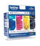 BROTHER LC1100V Valuepack 4 blekkpatroner,