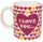 GADGET Bottoms Up Mugs - I Love You ... For Your Money! (BOTTOMSUPMUG-LOVE)