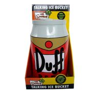 Simpsons Duff Beer Talking Ice Bucket