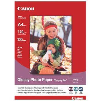 Canon GP-501 - Blank - A4 (210 x 297 mm) - 210 g/m² - 100 ark fotopapir - for PIXMA iP5300, iP90, MG2555, mini260, MP180, MP490, MP510, MP550, MP560, MP960, MX330 (0775B001)