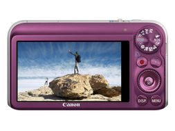 "CANON POWERSHOT SX210 IS Lilla, 14MP, 14X optisk zoom, 28mm vidvinkel,  HD video opptak, 3"" LCD, Optisk bildestabilisator (4247B012)"