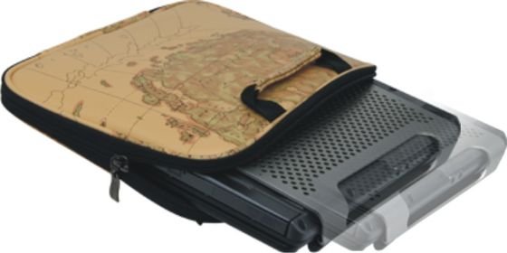 """ChillDesk Mini Netbook Cooling Stand for 6-12"""" Notebooks,   Removable Silent Fan stepless speed"""