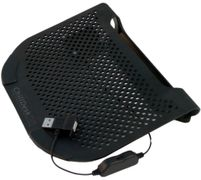 "CHILL ChillDesk Mini Netbook Cooling Stand for 6-12"" Notebooks,   Removable Silent Fan stepless speed"