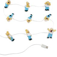 GADGET Simpsons Illuminating Monitor Lights, 9 lysende mini-Homers med sugekopper for skjerm/ kabinett (BS222)