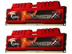 Ripjaws-X 8GB DDR3 Kit (2x4GB), PC3 12800 1600MHz Non-ECC CL9 9-9-9-24-2N 1.5V