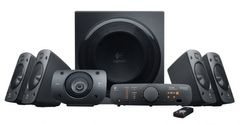 Logitech Surround Sound Speaker Z906, 5.1 høyttalersystem,  500W RMS, THX-godkjent