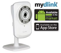 D-LINK Securicam Wireless N Home IP IR-lysdioder (for filming i mørke), digital bevegelsesdetektor,  mydlink