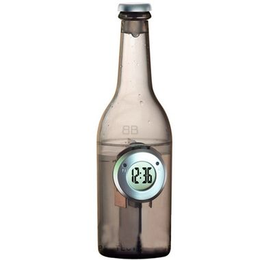 Bottle-Shaped Water Powered Clock