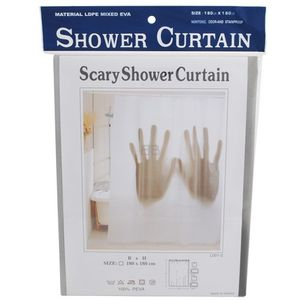 GADGET Scary Shower Curtain (GH-9308A)