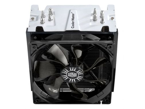 CPU Cooler Universal incl. LGA 2011 high-end silent cooler 4 CDC heatpipes 120mm 1300-900RPM fan with fanspeed adapter Hype