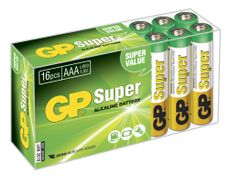 GP LR03 AAA 1.5V Batteri Homebox 16 stk (24A-2B16)