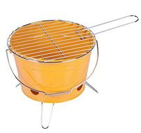 BBQ Steel grillbøtte orange