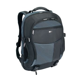"TARGUS XL Notebook Backpack 17-18"" Black & Blue"