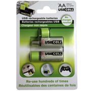 GADGET USBCELL Rechargeable AA Batteries