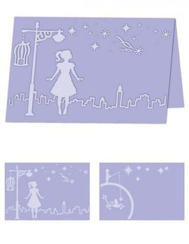 Craftwell Pregemappe,  Whimsical Wishes (A4) (EF-WHW-A4)