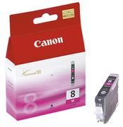 Canon CLI-8M - 13 ml - magenta - original - blekkbeholder - for PIXMA iP3500, iP4500, iP5300, MP510, MP520, MP610, MP960, MP970, MX700, MX850, Pro9000