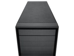 Obsidian 900D Big Tower Sort Vifter: 3x 120mm Front, 1x 140mm Bak, M/ E/ XL-ATX,  m-ITX, HPTX, USB 2x 3.0/4x 2.0