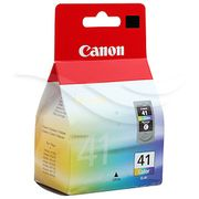 Canon CL-41 - 12 ml - Høy ytelse - farge (cyan, magenta, gul) - original - blekkpatron - for PIXMA iP1800, iP1900, iP2500, iP2600, MP140, MP190, MP210, MP220, MP470, MX300, MX310