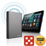 SEAGATE Wireless Plus 1TB AirPlay-støtte,