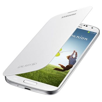 Samsung Flip Cover Galaxy S4 Polaris White
