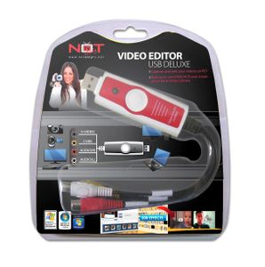 LIFEVIEW Not Only TV Video Editor USB Deluxe - Audio/ Video grabber (NOTLV5EDLX)