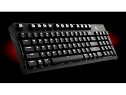 Storm QuickFire TK Brown Gaming keyboard, USB/PS3, Nordisk, Mechanical Cherry MX Brown, NKRO, Ring-puller,  White Backlight
