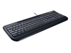 Microsoft Wired Keyboard 600 USB, Sølebestandig, Quiet, Nordisk