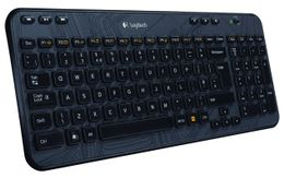 Logitech Wireless Keyboard K360 Nordic - Liten USB mottaker