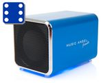 Music Angel Friendz Blue Mini stereo høyttaler