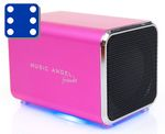 Music Angel Friendz Pink Mini stereo høyttaler