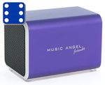 Music Angel Friendz Purple Mini stereo høyttaler