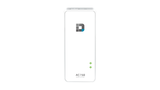 DIR-510L Wi-Fi AC750 Portable Router and Charger